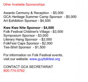 GCA Supporter Opportunities 3