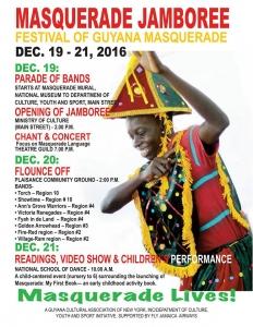 Guyana Masquerade Jamboree Schedule